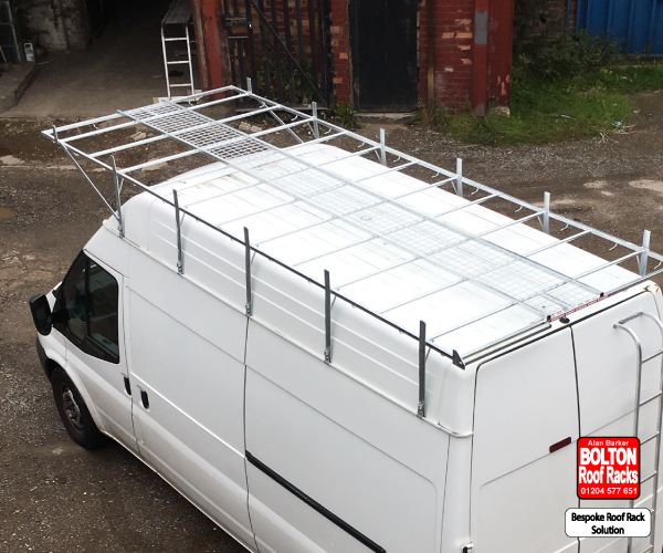 Bespoke Extended Roof Rack Solutions Rear View