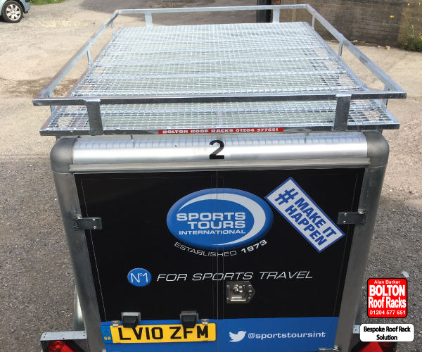 Bespoke Trailer Roof Rack Solutions