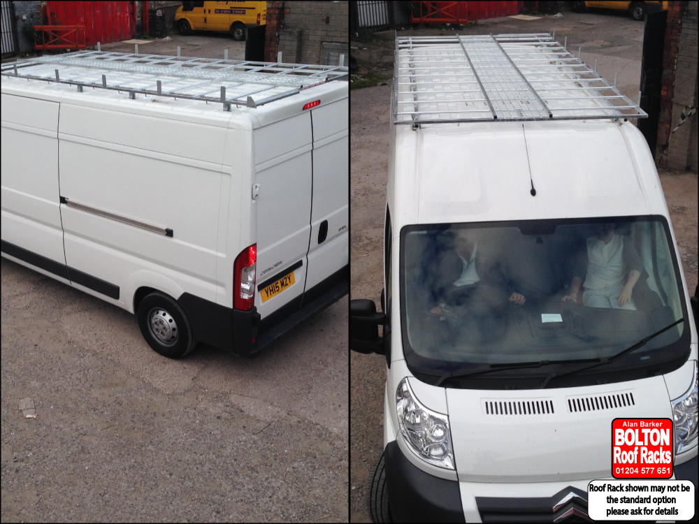 Citroen Dispatch Roof Rack from Bolton Roof Racks