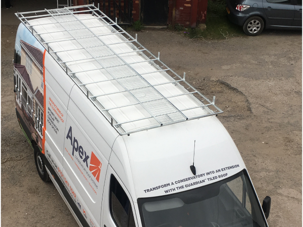 Choose  Roof Racks for a Mercedes Sprinter LWB Wheelbase