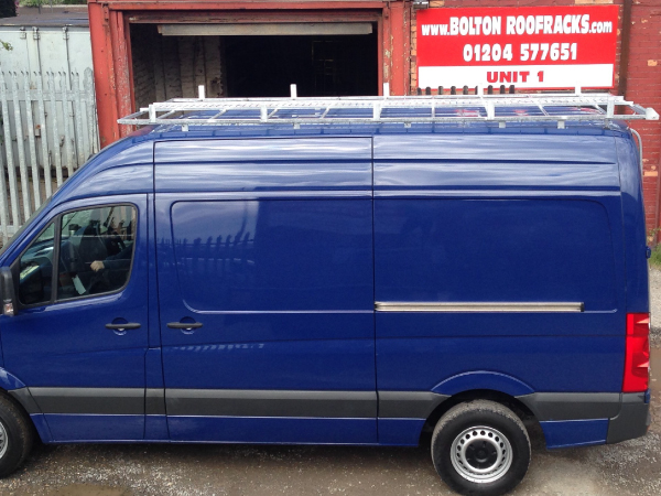 Choose  Roof Racks for a Mercedes Sprinter SWB Wheelbase