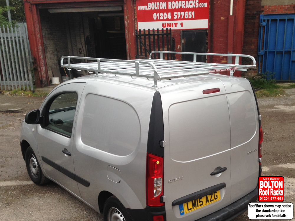 Choose  Roof Racks for a Mercedes Vito Citan Compact Wheelbase