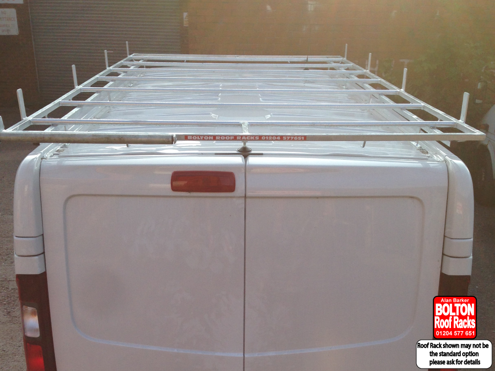 Nissan Primastar LWB Roof Rack from Bolton Roof Racks