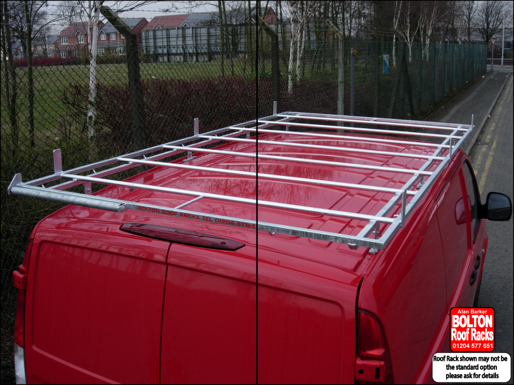 Vauxhall Movano L1H1 Roof Rack from Bolton Roof Racks