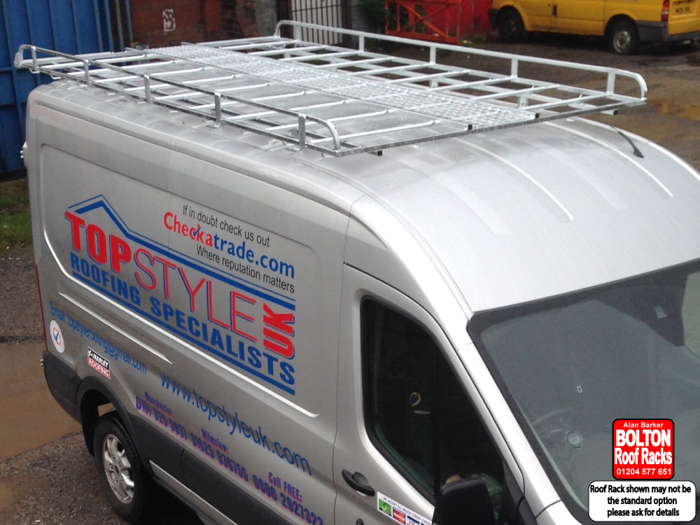 Vauxhall Vivaro SWB Roof Rack from Bolton Roof Racks