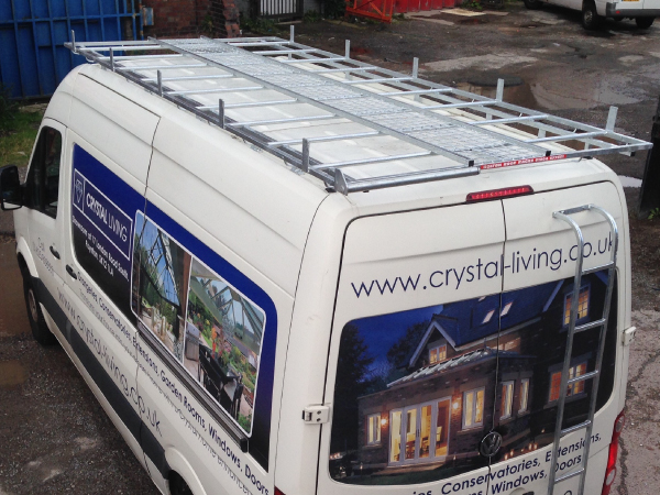 Choose  Roof Racks for a Volkswagen Crafter MWB Low Roof