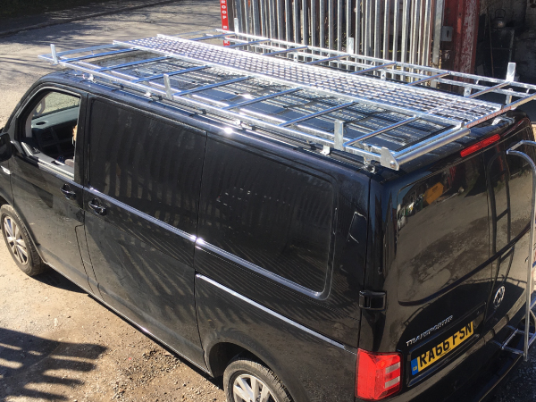 Choose  Roof Racks for a Volkswagen T6 Transporter