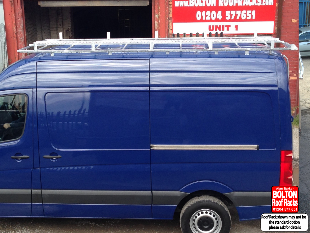 Volkswagen Crafter Short wheelbase High Roof Rack from Bolton Roof Racks